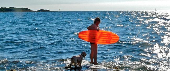 Istrien - Baden mit Hund