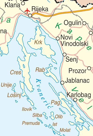 kroatien_kvarner_bucht_karte