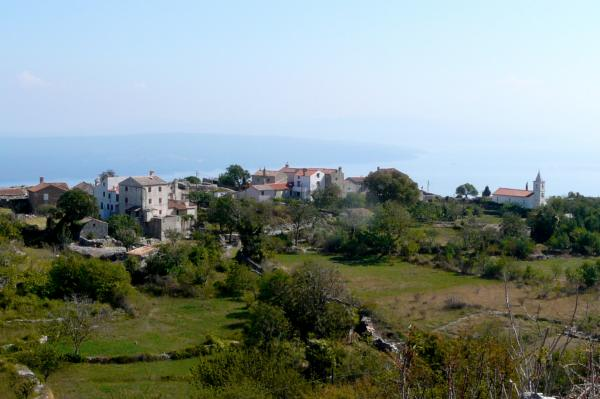 Dorf auf Cres