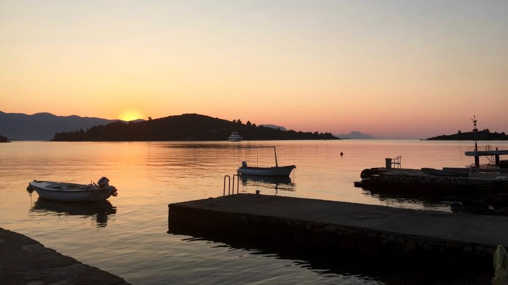 Kroatien Sonnenaufgang