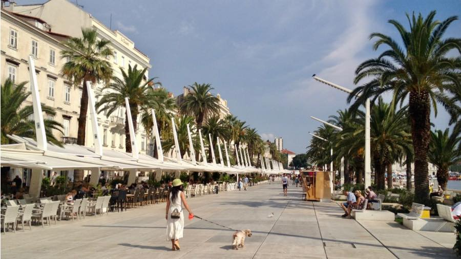 split-hafenpromenade
